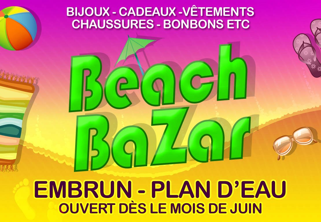 Beach bazar